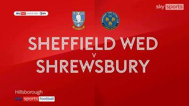 Sheffield Wednesday 1-1 Shrewsbury