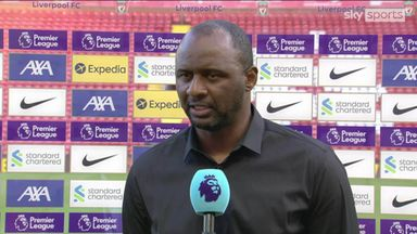 Vieira frustrated with defending