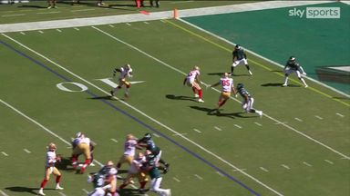 Jennings' first ever NFL catch is a TD