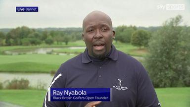 'We're giving black British golfers a platform'