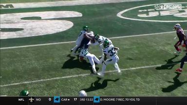 Harris won't be denied in incredible 26-yard TD!