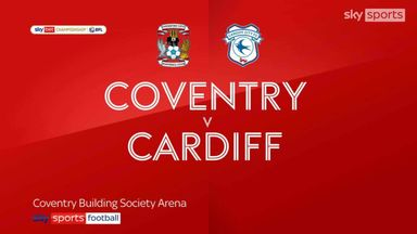 Coventry 1-0 Cardiff