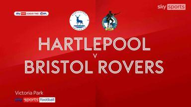 Hartlepool 1-0 Bristol Rovers