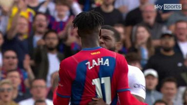 Zaha and Tanganga's heated exchange!