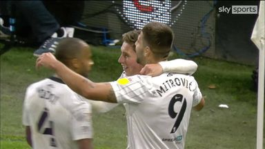 Clinical Mitrovic bags his hat-trick!