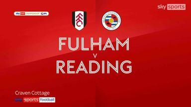 Fulham 1-2 Reading