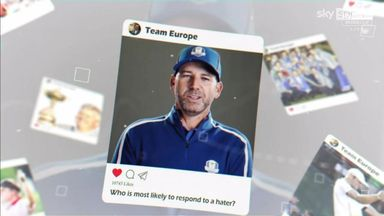 Ryder Cup team-mates: Europe reveal all!