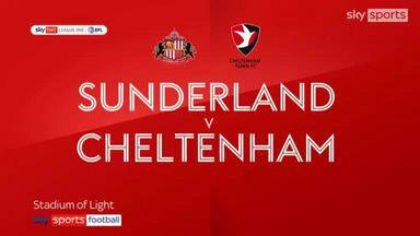 Sunderland 5-0 Cheltenham