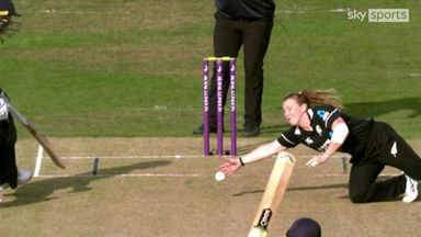 NZ break the partnership with a runout
