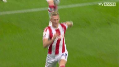 Surridge gives Stoke the lead