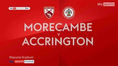 Morecambe 3-3 Accrington