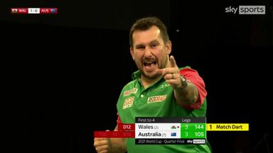 Wales through to semis with Clayton's 144