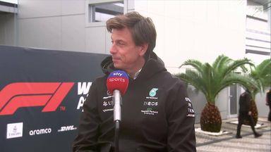 Wolff: Hamilton crash was unlucky