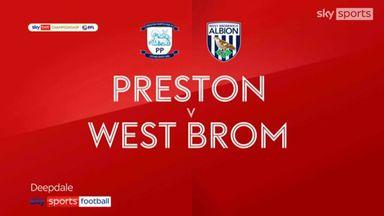 Preston 1-1 West Brom