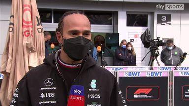 Hamilton apologies to team for mistakes