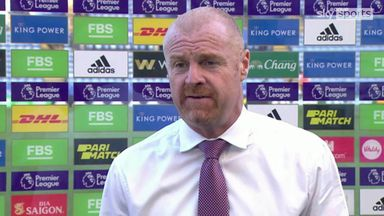 Dyche uhappy with Vardy equaliser