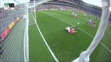 Goal-line save from Sludden!