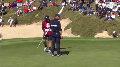 Bryson unhappy at putt not conceded