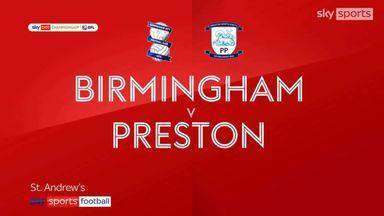 Birmingham 0-0 Preston