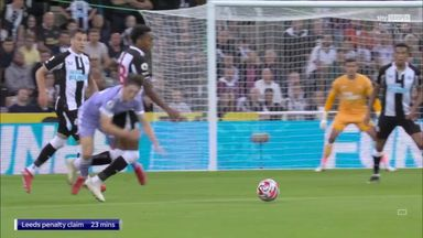 Were Leeds denied a clear penalty?