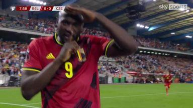 Lukaku scores on 100th Belgium cap