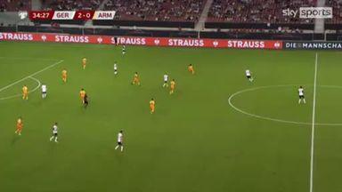 Werner sets up Reus for Germany's third