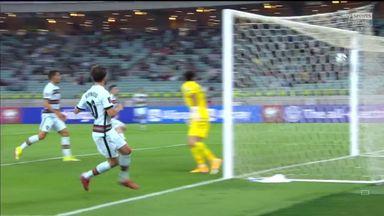 Superb Bernado Silva volley gives Portugal lead