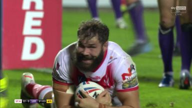 Walmsley battles over for Saints