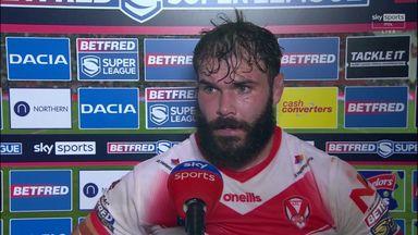 Walmsley happy at Saints' response