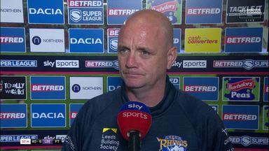 Agar: Leeds were rabbits in headlights