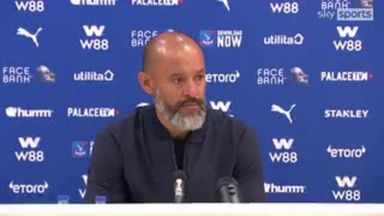 Nuno: We didn't perform well enough