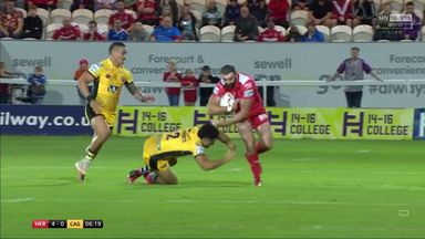 Linnett smashes through defence to assist Lewis