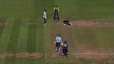 Knight falls after splendid innings