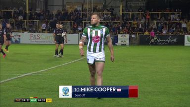 Was Cooper unlucky to see red?