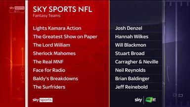 Sky Sports NFL Fantasy: Who won in Week One?