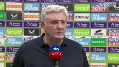 Bruce: We have to accept the pressure