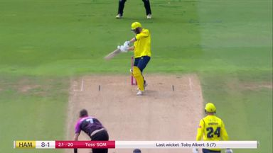 Vince gone early as Overton strikes