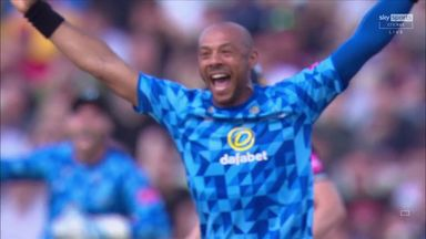 Two in two for Tymal Mills!