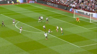 Shot J McGinn (34) Aston Villa 0 - 0 Everton