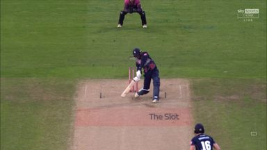 Bell-Drummond smashes six!