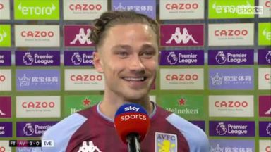 Cash: I dreamt about that goal last night!