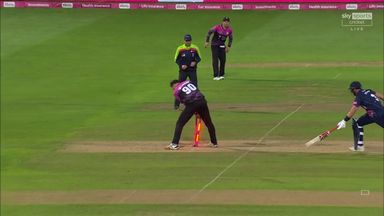 Stevens run-out chasing second