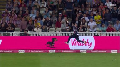 Outrageous skill from Cox in stunning relay catch!