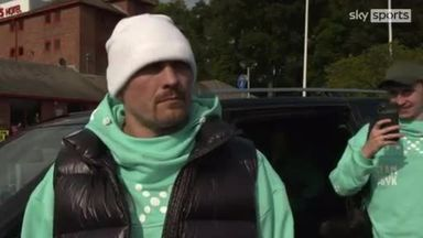 Usyk coy over weight for AJ fight