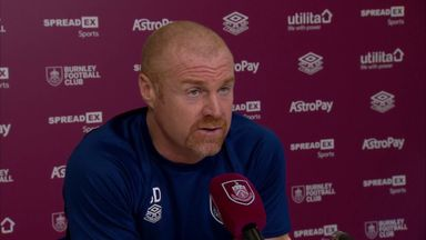 Dyche concerned over lack of Burnley pens