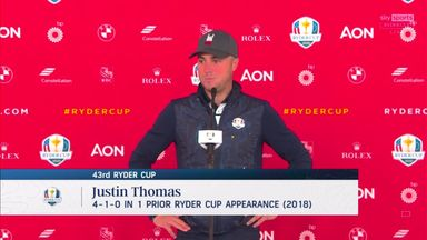 Thomas: USA Ryder Cup team unbelievable