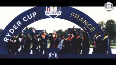 Video inspires Europe's Ryder Cup team