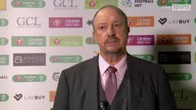 Benitez: We had enough chances to win