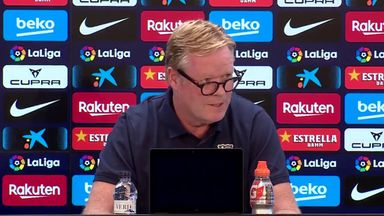 Koeman's bizarre Barca news conference