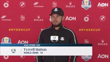 Hatton: Pre-Ryder Cup form no concern